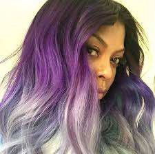 pravana silver hair color pravana step by step actress taraji p henson reveals new purple