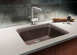 Blanco Kitchen Faucet Reviews Kitchen Kitchensinks Black Sink White Quartz Composite Sink