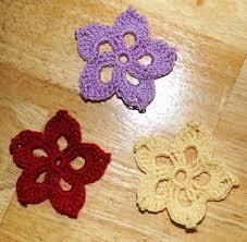 Free Pattern For Crochet Flower - 113 best crochet accents images on pinterest crocheted flowers