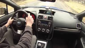 subaru wrx interior 2015 wrx interior back road driving commentary vlog youtube