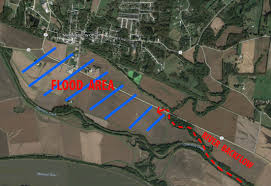 Missouri Flooding Map Treloar Levee Holding Two Water Rescues Overnight Communities