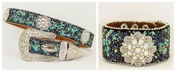 crystal buckle bracelet images Cowgirl style belt silver rhinestone flower concho silver jpg