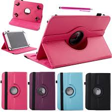android tablet cases 360 rotating universal pu leather stand cover for 10 inch