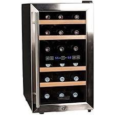 black friday wine fridge amazon com koldfront 24 bottle free standing dual zone wine