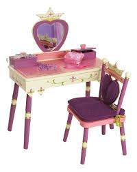 Vanity Stools And Chairs Amazon Com Wildkin Princess Vanity Table U0026 Chair Set Toys U0026 Games