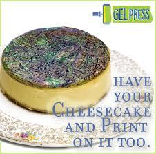 edible prints with sugar sheets and food coloring by sally lynn