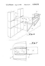 patent us4604838 modular mezzanine structure for a storage
