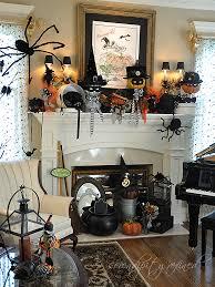 halloween mantel by serendipity refined halloween pinterest