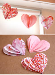 Decorative Hearts For The Home Valentine U0027s Day Crafts 18 Valentine U0027s Day Heart Crafts Diy 3d