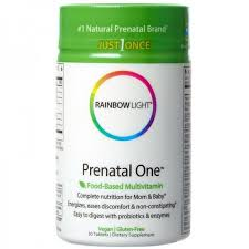 rainbow light prenatal one multivitamin rainbow light prenatal one multivitamin tablets 30 tablets stockn go