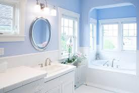 Seattle Bathroom Vanity by Benjamin Moore Ice Cap Bathroom Bathroom Beach Style With Gray