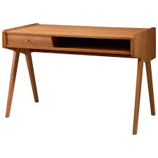 Small Wood Writing Desk Helmut Magg Small Wooden Writing Desk Germany 1950s For Sale At