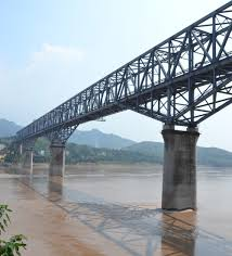 Changshou Yangtze River Railway Bridge