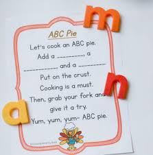 thanksgiving abc pie alphabet activity