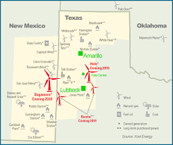 Hobbs New Mexico Map by Xcel Announces 1 6 Billion Investment In Wind Energy From South