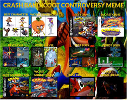 Crash Bandicoot Meme - erin s crash bandicoot controversy meme by mastergamer20 on deviantart