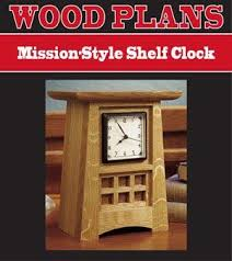 Mantel Shelf Woodworking Plans by 13 Best Mission Style Clocks Images On Pinterest Craftsman Style