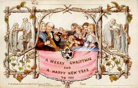 england u0027s first commercial christmas card