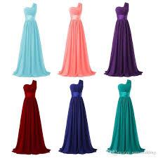 mint blue bridesmaid dresses bridesmaid dress 2018 one shoulder chiffon bridesmaid formal