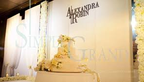 wedding backdrop hk white elegance