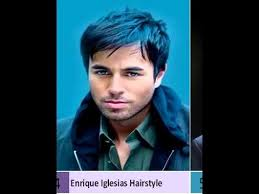 enrique iglesias hair tutorial enrique iglesias haircut new mens hairstyles youtube