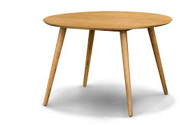 Retro Round Dining Table Scan Design Furniture - Kitchen table retro
