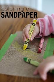 For Toddlers Coloring On Sandpaper Activity For Toddlers I Can Teach My Child