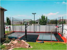 sport court dave u0027s dream outside space pinterest