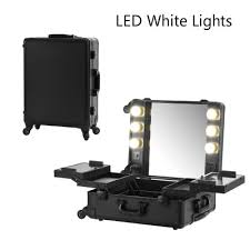 professional makeup lighting portable black led white lights makeup with lights professional