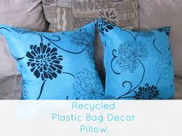 recycled home decor projects recycled plastic bag decor pillow retrorepin11 retro repin