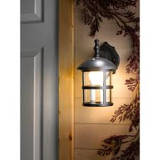 led outdoor wall mount lighting exterior buy philips karp led outdoor wall light anthracite john