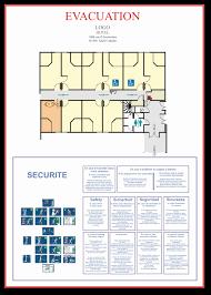 plan d une chambre d hotel plan de sécurité pour chambres d hôtel j l j concept