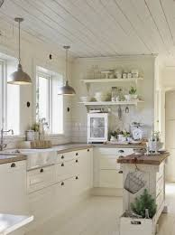 cuisine rustique blanche 25 best deco cuisine ideas on diy kitchen diy