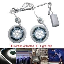 motion activated led light strip new style pir motion activated led auto on off light strip bedside