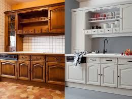 peindre meuble de cuisine peinture meuble cuisine bois blanc déco