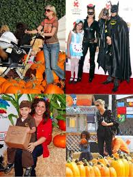 Good Family Halloween Costumes by Celebrities Share Their Kids U0027 Halloween Costume Plans Shopathome Com