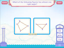 right angle worksheet games fourth grade math