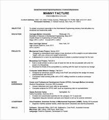 cv format for freshers mechanical engineers pdf resume format pdf for engineering freshers beautiful resume