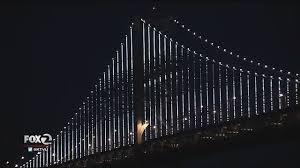 Bay Bridge Lights Bay Bridge Light Display Goes Dark For 11 Months Story Ktvu