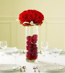 Red Roses Centerpieces 51 Best Red Roses U003c3 Dinner Table Decoration Images On Pinterest