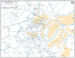 Ww2 Europe Map by Map Of Wwii Ardennes Dec 1944 Jan 1945