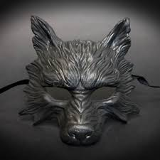 wolf mask 2017 all black humble hungry scary wolf mask unisex resin
