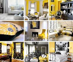 White And Yellow Bedroom Black White And Yellow Bedroom Home Design Ideas