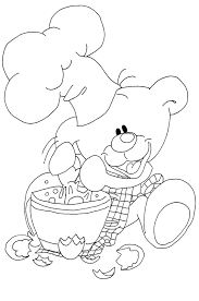coloriage cuisine coloriage cuisinier les beaux dessins de personnages à imprimer et