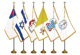 Interment Flag Religious Indoor Flag Sets Ameritex Flag And Flagpole Llc