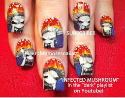 robin moses nail art infected mushroom nail art infected