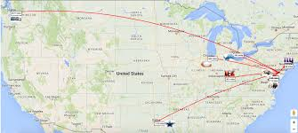 Alabama Travel Distance images Philadelphia eagles won 39 t have to travel too far in 2016 png