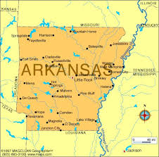 map of arkansas map of arkansas which entered the union on june 15 1836 and was