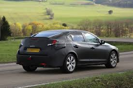 2017 honda civic fastback spied while testing in europe
