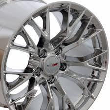 chrome corvette wheels c7 corvette chrome oem style z06 wheels fitment for c6 c7 zr1